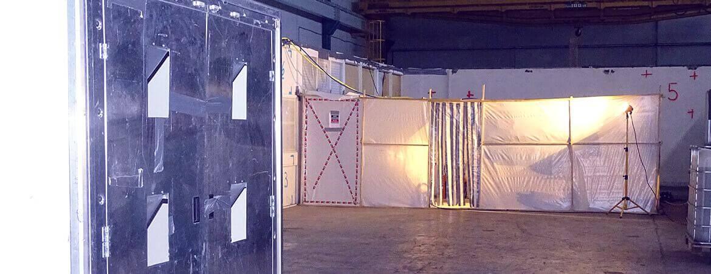CEA Marcoule : désamiantage et déconstruction d'un bâtiment industriel