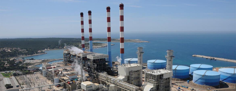 Centrale thermique EDF – Martigues