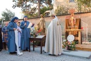 Désamiantage d'un monastère dans le 4ème arrondissement de Lyon