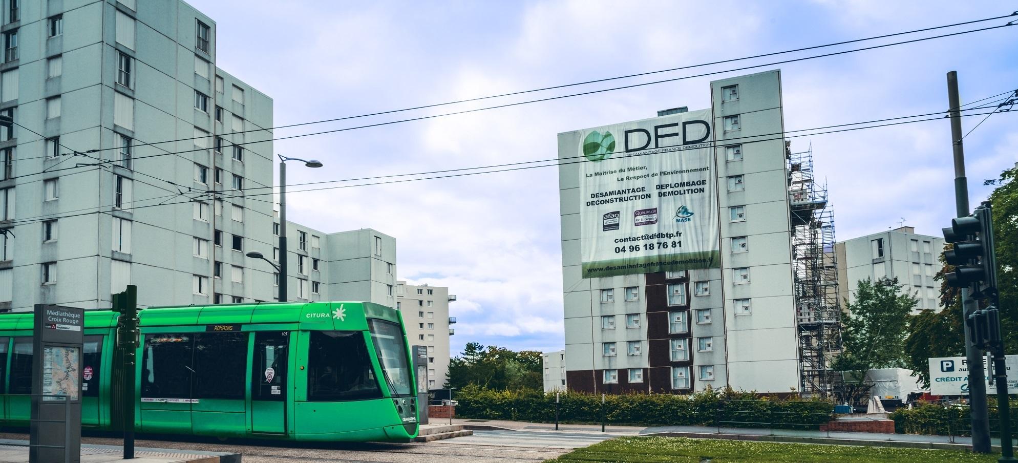 DFD au cœur de la transformation des quartiers emblématiques de Reims