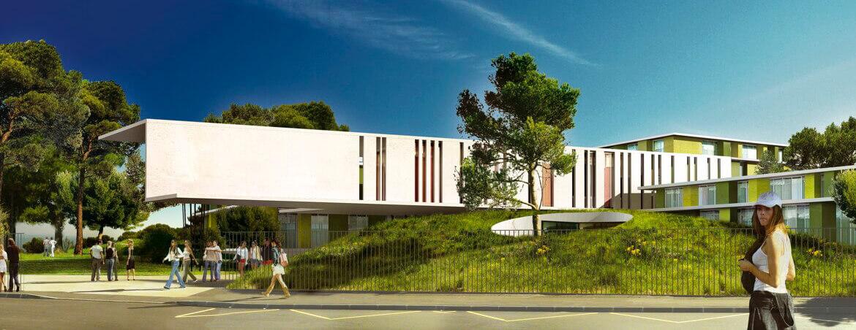 Travaux d'agrandissement et de rénovation du lycée Latécoère