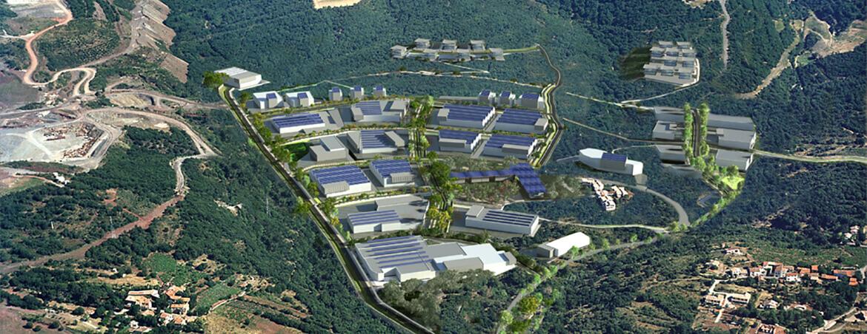 La réhabilitation du Parc Régional d'Activités Economiques Michel Chevalier