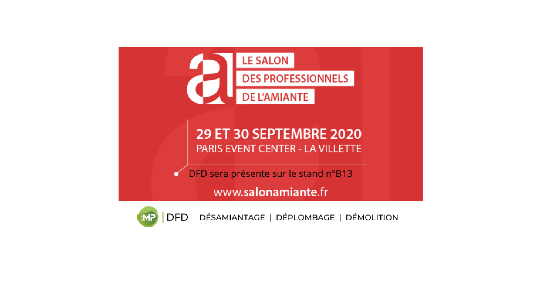 Salon des professionnels de l'amiante du 29 au 30 septembre