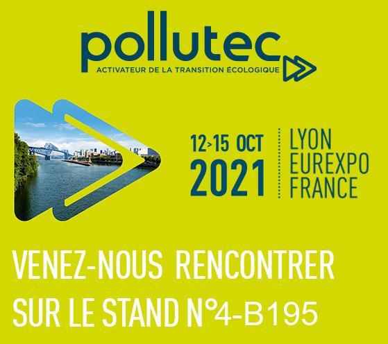 Salon POLLUTEC 2021 à Lyon